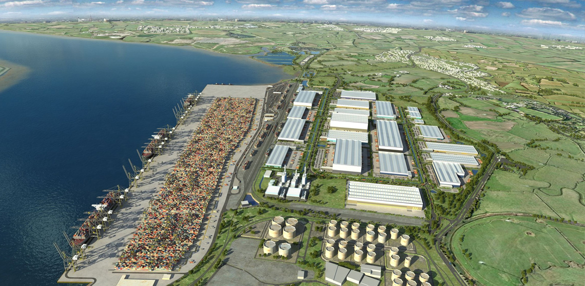 'London Gateway', DP World
